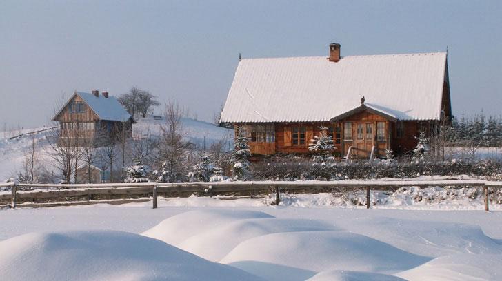 4. Jak wygląda zima w Starych Sadach